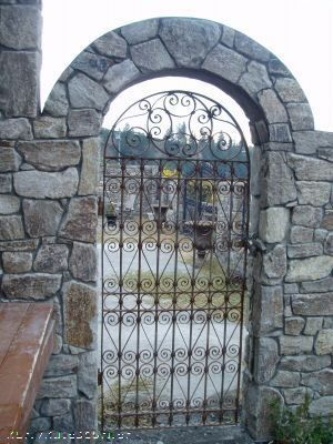 520 Antique Wrought Iron Gate With Images Wrought Iron Gate