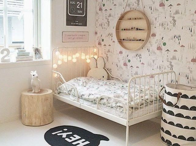 chambre enfant guirlande deco chambre d enfant pinterest chambre enfant guirlandes et. Black Bedroom Furniture Sets. Home Design Ideas