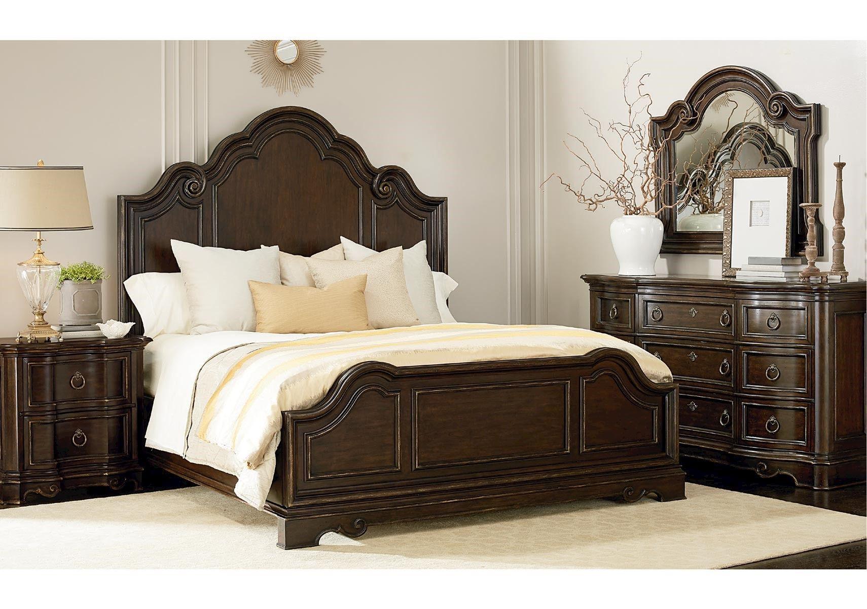 Lacks | Bella 4-Pc Queen Bedroom Set | King bedroom sets ...