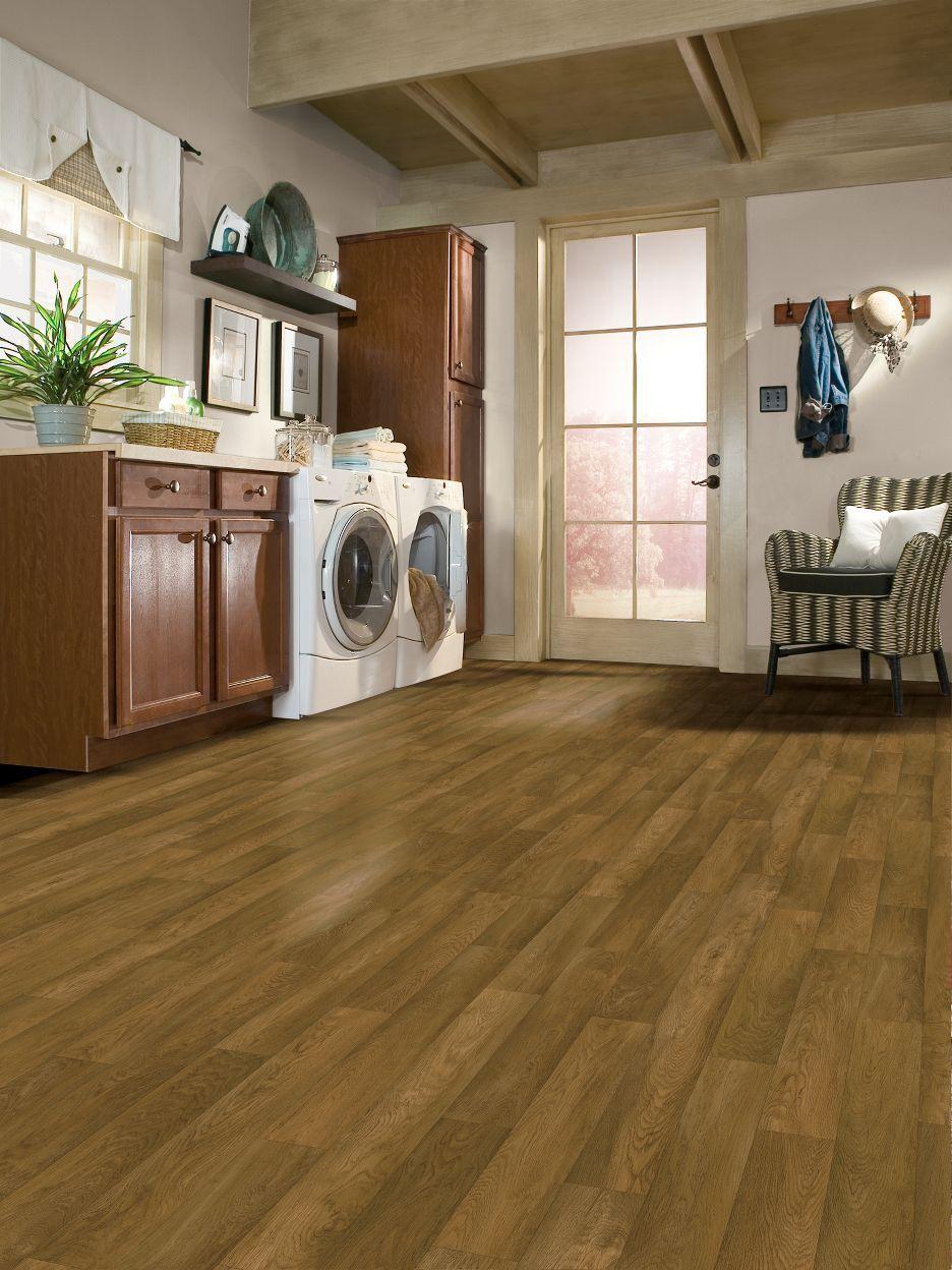 Chickasaw Oak Sheet Vinly Laundry room design, Luxury vinyl