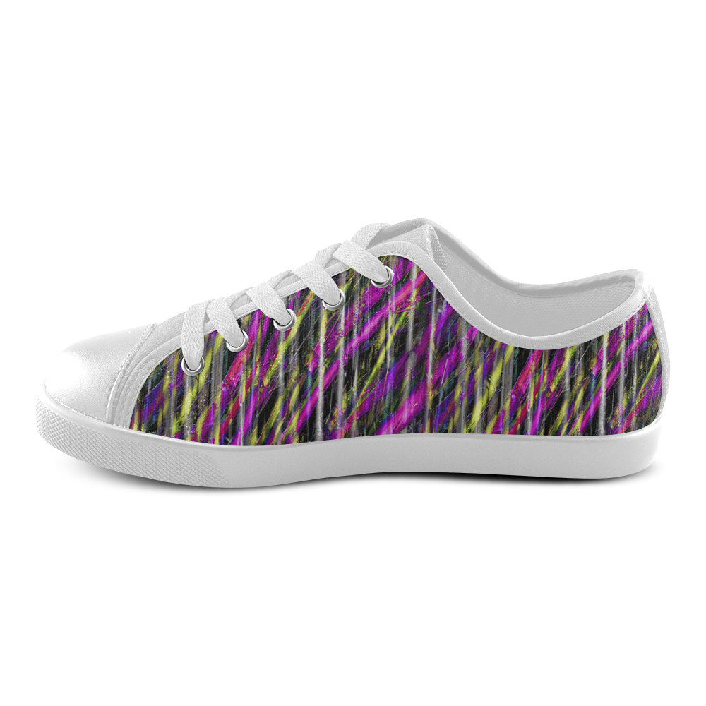 fba80a4fc9ef Striped Grunge Canvas Kids Shoes by  dflcprints and  artsadd