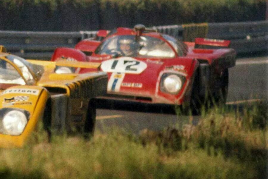 Sam Posey / Tony Adamowicz - Ferrari 512M - North American Racing Team - XXXIX Grand Prix d´Endurance les 24 Heures du Mans - 1971 International Championship for Makes, round 9 - Challenge Mondial, round 4