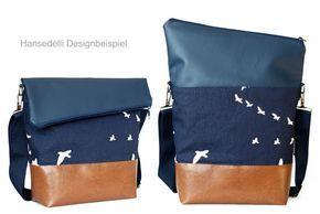 Lookbooks – Hansedelli – Designbeispiele zu den Schnittmustern – Bolsa de moda