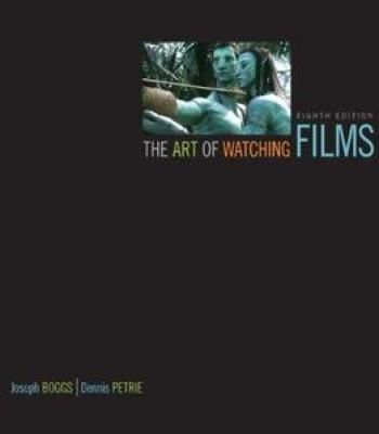 Sell the art of watching films with tutorial cd textbook (isbn.