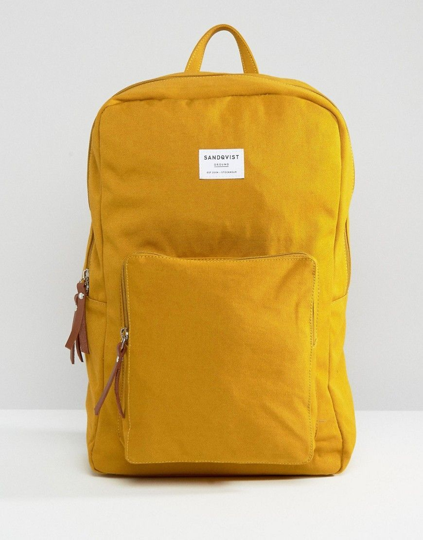 Sandqvist+Kim+Backpack+in+Yellow  5a705d8f99fc3