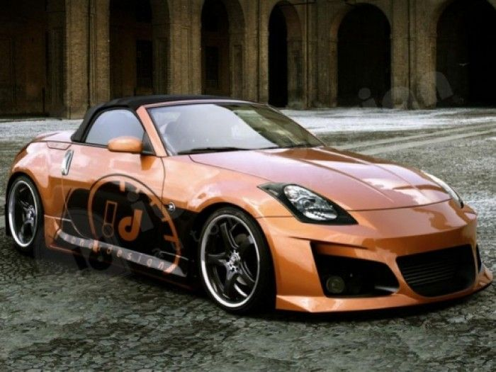 Nissan 350z 03 couperoadster full body kit venom 350 z nissan 350z 03 couperoadster full body kit venom publicscrutiny Images
