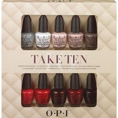 Opi Polish Set Cheap Price And Great Gift For The Lady