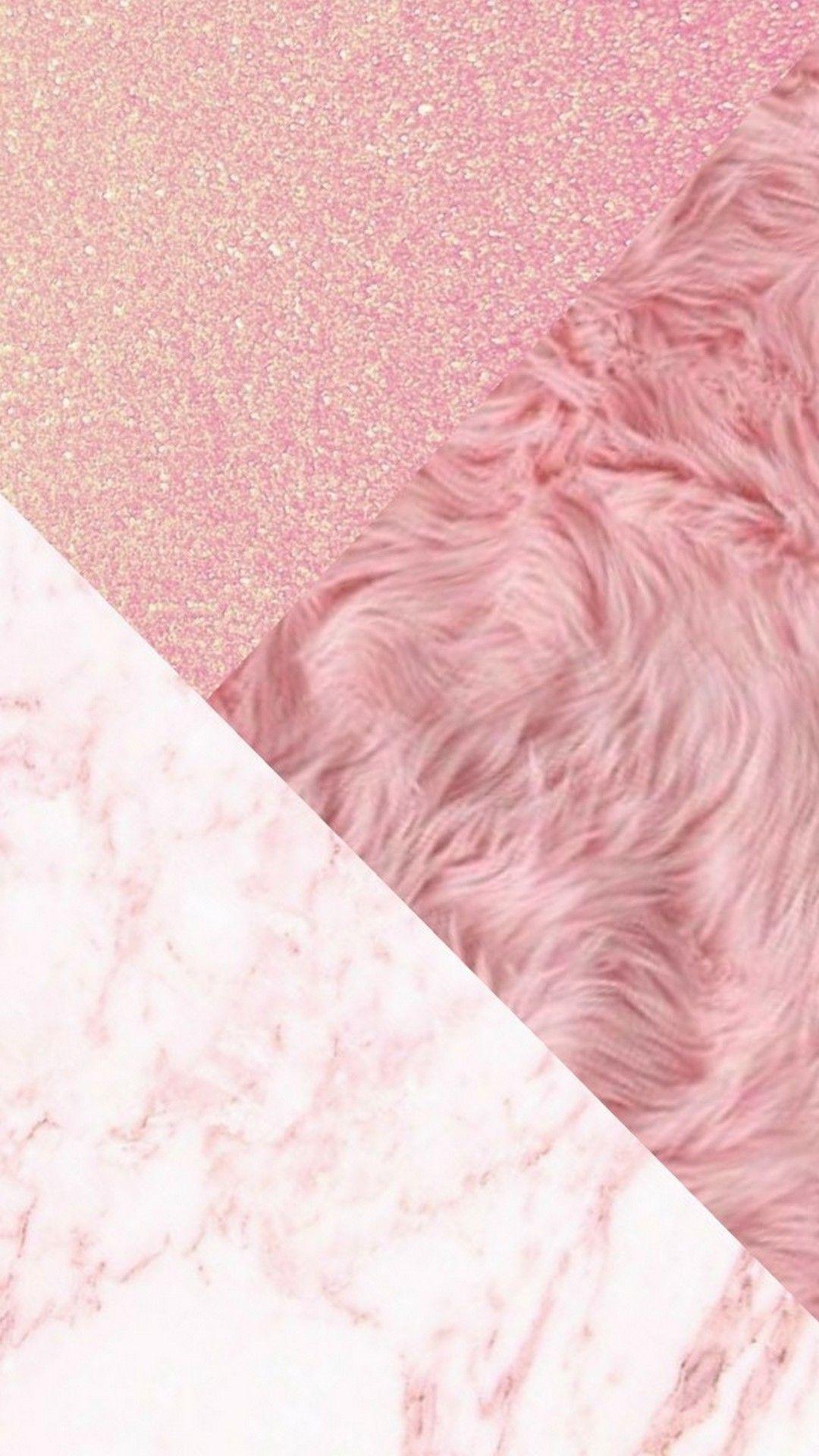 Wallpaper iPhone Rose Gold Glitter - 2018 iPhone Wallpapers | Duvar kağıtları | Pinterest ...