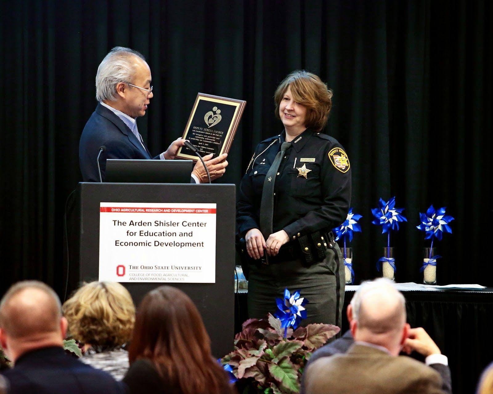 Deputy Teresa Saurer CSB Officer Of The Year Officer