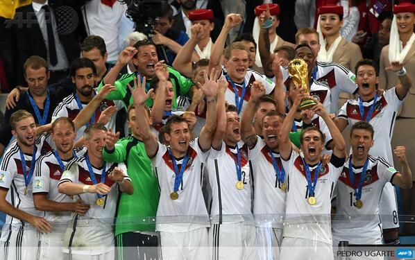 Afp News Agency On Twitter Germany Players Fifa 2014 World Cup World Cup Champions