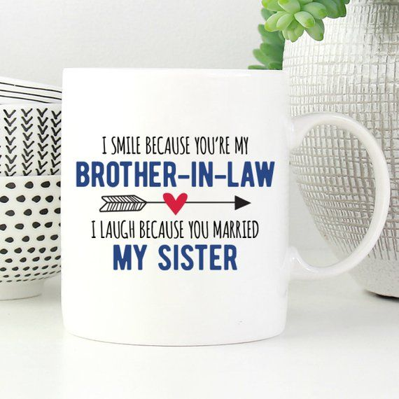 Brother-In-Law Mug, Funny Brother In Law Gift, Gift For