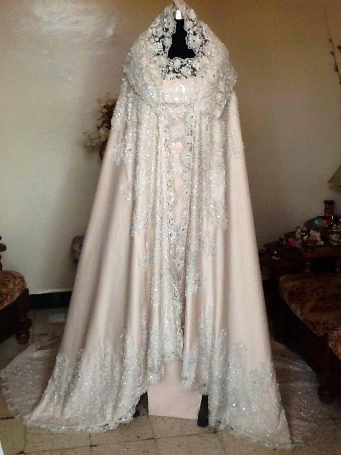 Location robe blanche hijab alger