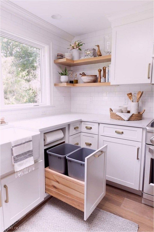 ✔ 38 elegant small kitchen remodel 33 #smallkitchenremodeling