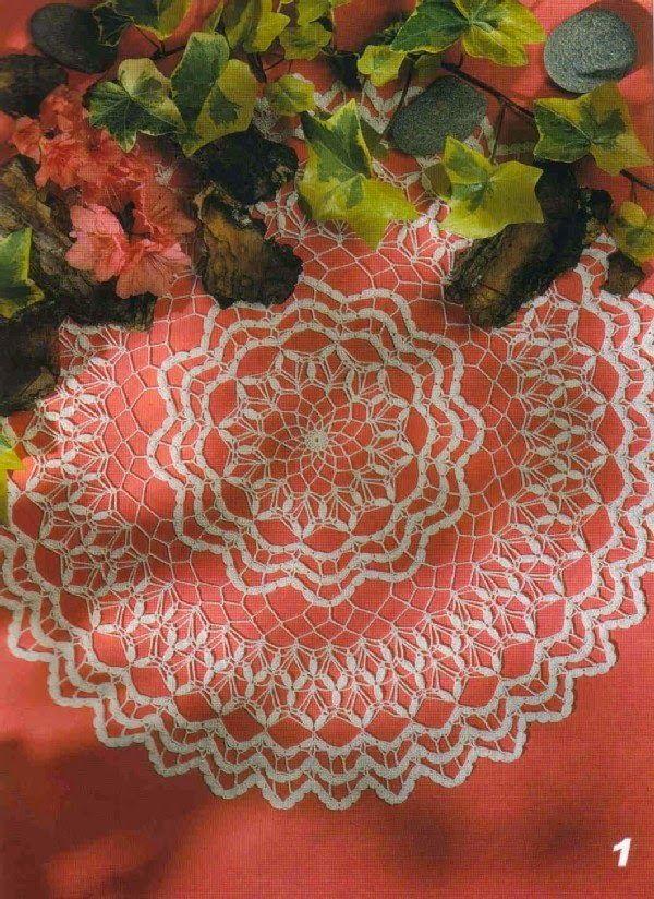 Kira scheme crochet: Scheme crochet no. 325
