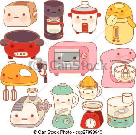 Resultado De Imagen Para Cocina Dibujos Kawaii Garabatos Kawaii