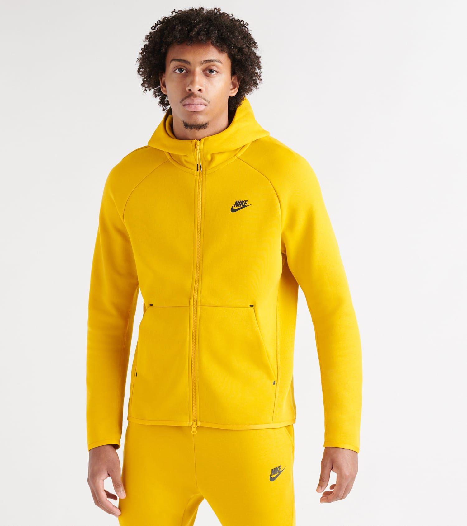 928483 Sportswear Tech Herren Dunkelgrün Hoodie Fleece Nike