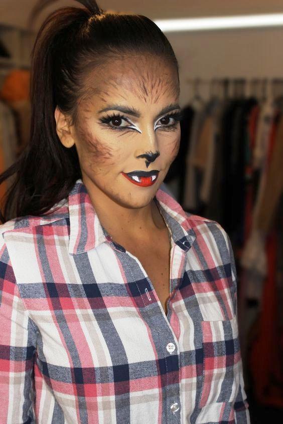 25 cute halloween makeup ideas for women