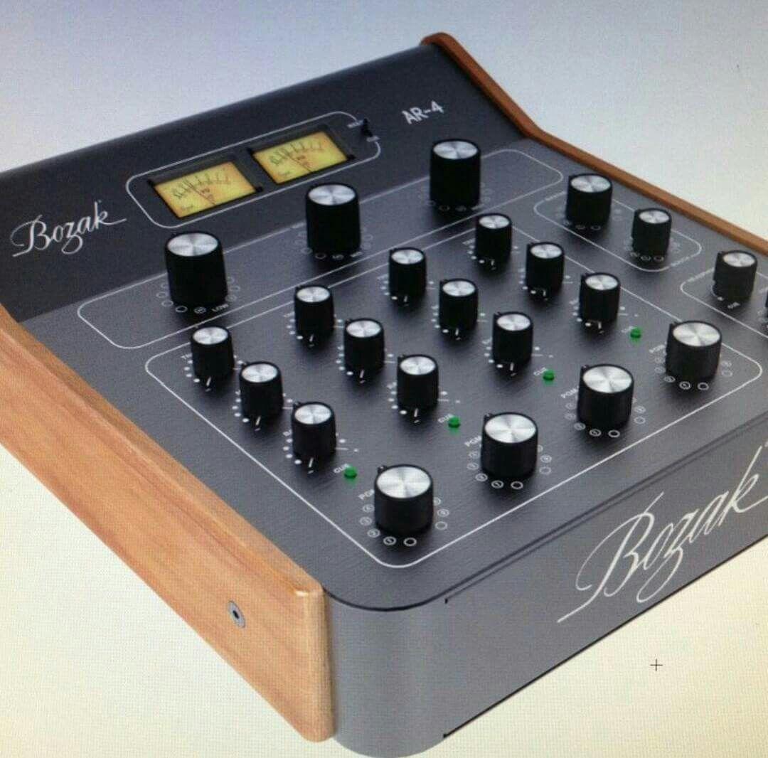 the new bozak ar 4 desktop rotary mixer dj equips. Black Bedroom Furniture Sets. Home Design Ideas