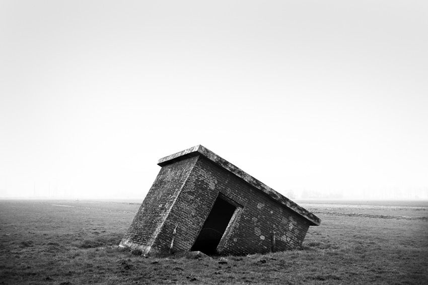 The Eerie, Crumbling Bunkers of the Nazis' Atlantic Wall | Muiden, Netherlands | Credit: Photo by Stephan Vanfleteren/Panos | From Wired.com