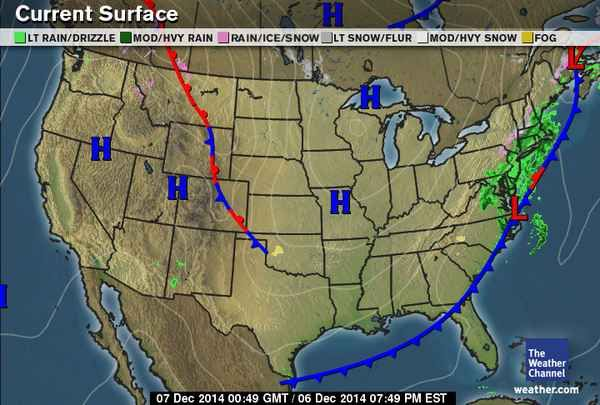 Current Weather Map Usa Current Weather Maps   weather.| The weather channel, Weather