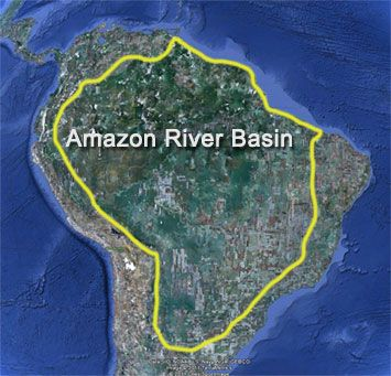 Amazon River Great River River Basin