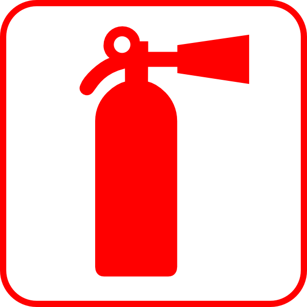 Style Guide Clker Free Art Fire Engine Party Fire Extinguisher