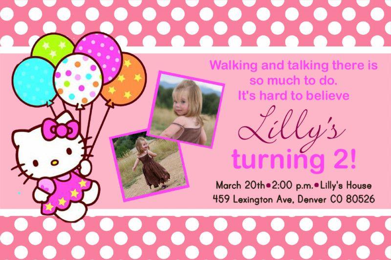 Printable Hello Kitty Invitations Free Hello Kitty Invitations Hello Kitty Birthday Invitations Hello Kitty Party