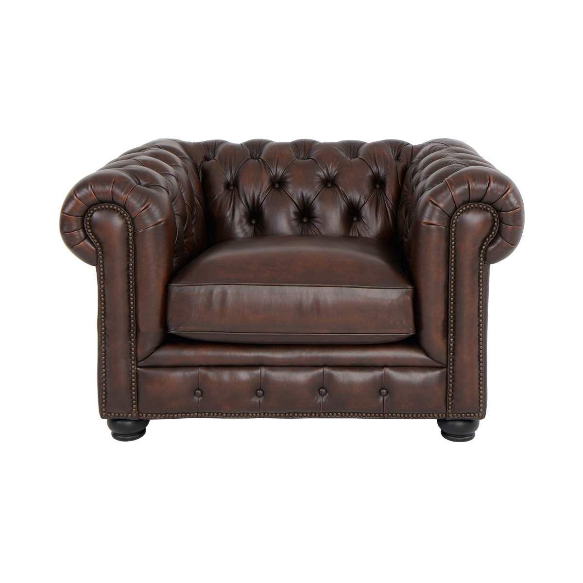 Tufted Leather Club Chair Nailhead Trim Accent Chair Jerome S Brown Leather Chairs Tufted Leather Chair Leather Chair