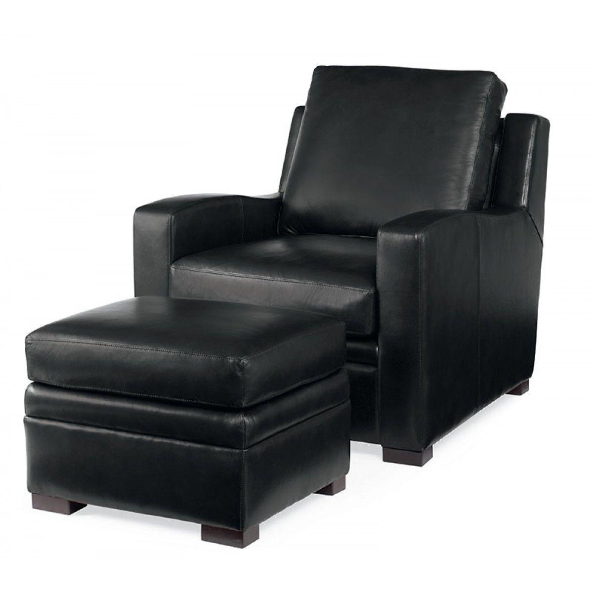 Leder Sessel Mit Hocker Osmanen verwendet werden, als