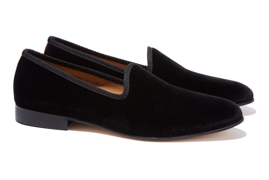 san francisco dbf1f e0624 Del Toro Black Prince Albert Slipper - Bonobos Mens Shoes ...
