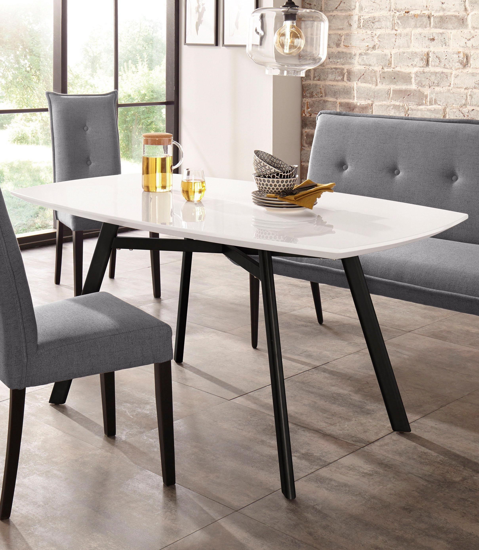 Esszimmertisch Eiche Rustikal Esstisch Stuhle Design Panton