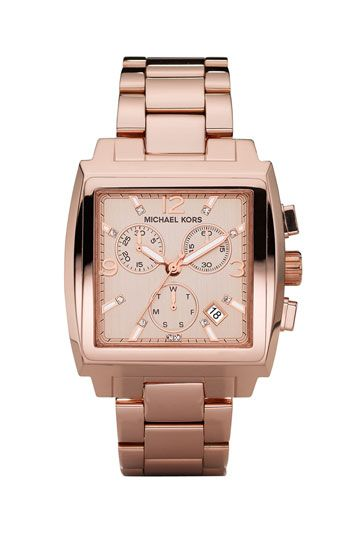 Michael Kors Rose Gold Chronograph Bracelet Watch