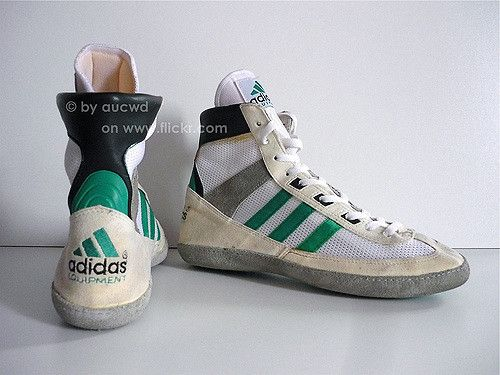 80`S 90`S VINTAGE ADIDAS EQUIPMENT (EQT) WRESTLING SHOES