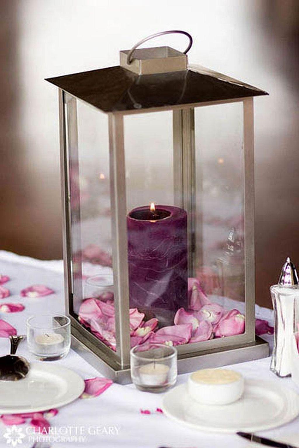 Wedding decoration ideas purple   Wedding Lantern Centerpiece Ideas  Wedding lanterns Lantern