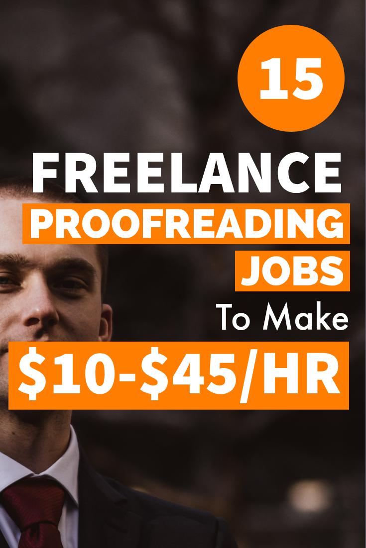 15 Legitimate Proofreading Jobs Online That Pay Up To 45 Hr 2020 Lifez Eazy Proofreading Jobs Online Jobs Earn Money Online