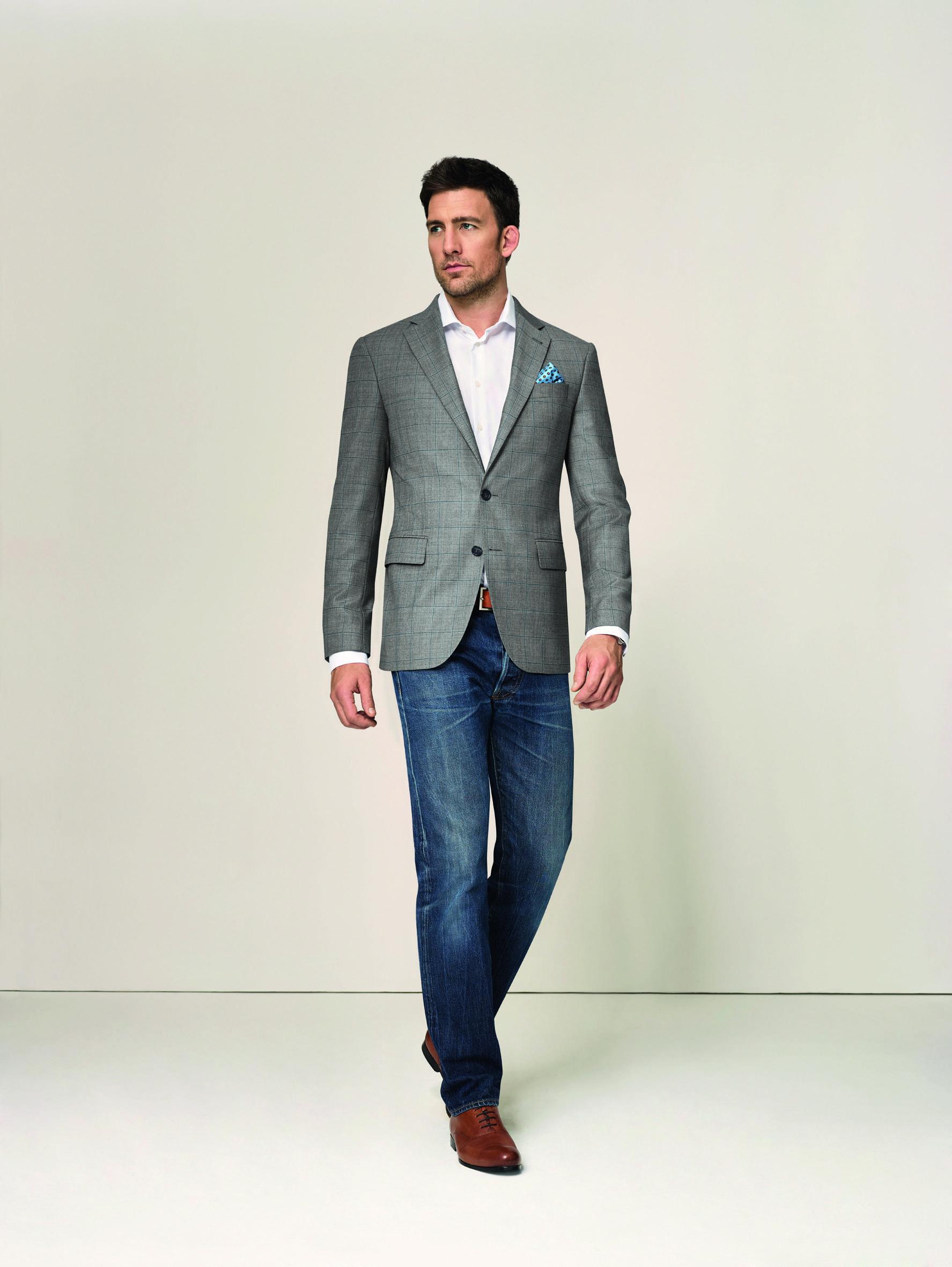 Ein Sacco, zwei Outfits II Ob mit Jeans oder Chino, ein ...