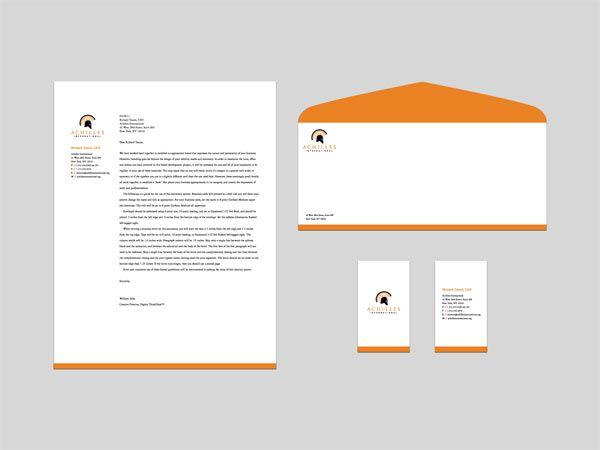 Inspiring Letterhead Designs  Letterhead Design Company Logo
