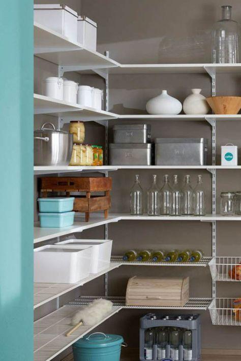 p slot praktisches regalsystem f r keller vorratsr ume garage und abstellkammer ideen die. Black Bedroom Furniture Sets. Home Design Ideas