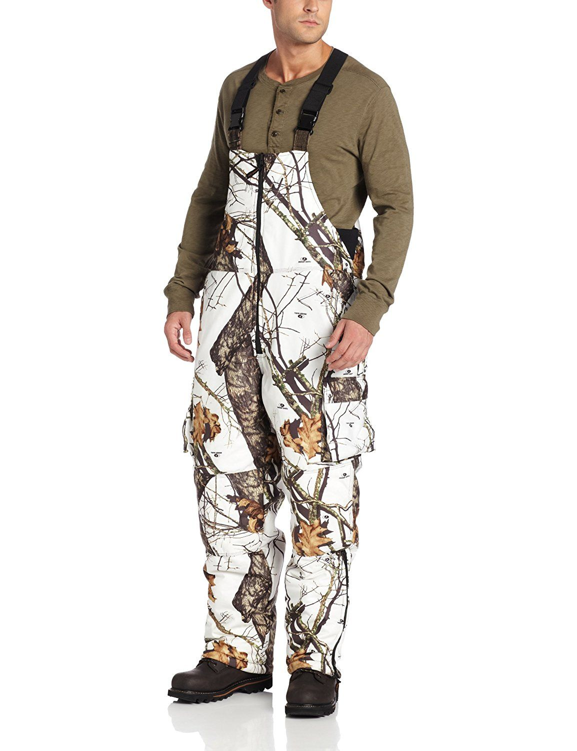 yukon gear men s reversible insulated bibs mossy oak on cheap insulated coveralls for men id=34579