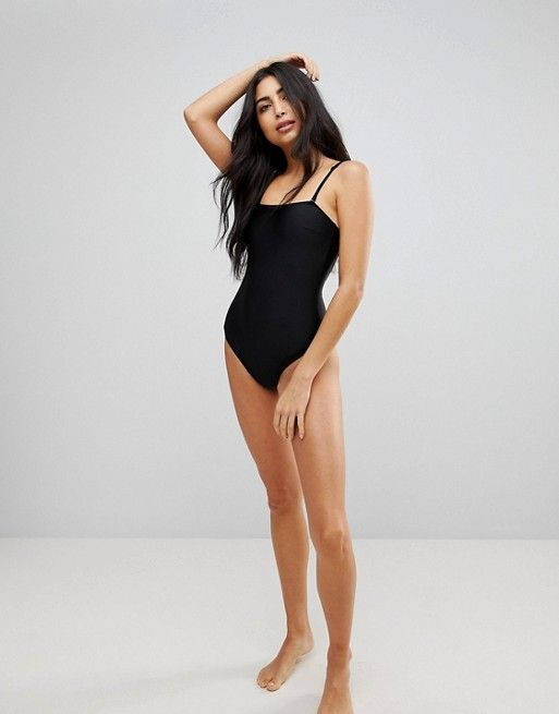 The Cheapest High Leg Swimsuit with Removable Multiway Straps - Black Playful Promises Outlet Outlet Footlocker Finishline Store UdKZluUFm