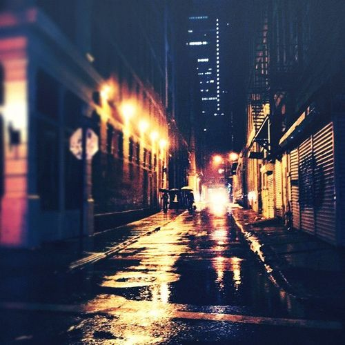 Empty Streets At Night Night Photography City Life Photography Night City