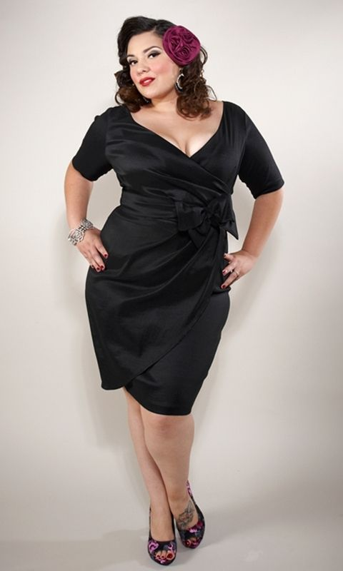 Va Va Voom With This Plus Size Super Sexy Fitted Vintage Inspired