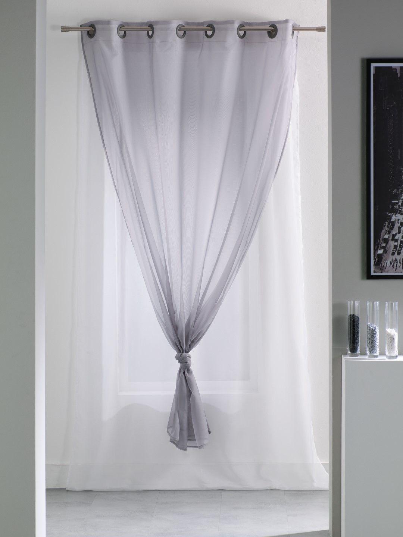 Robin Solid Sheer Grommet Single Curtain Panel Curtain Single Panel Panel Curtains Sheer Curtain Panels