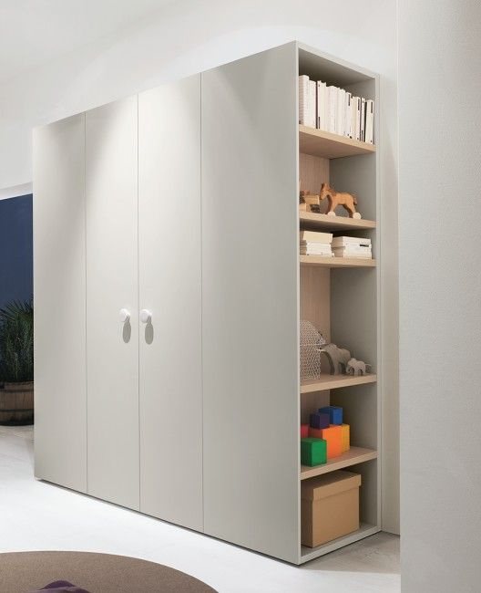 Wardrobe with shelves | kid stuff | Kids wardrobe, Bedroom, Wardrobe ...