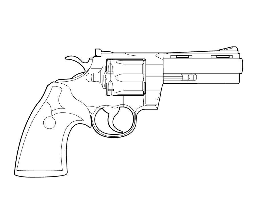 nerf pistool kleurplaat kleurplaat machine geweer armee