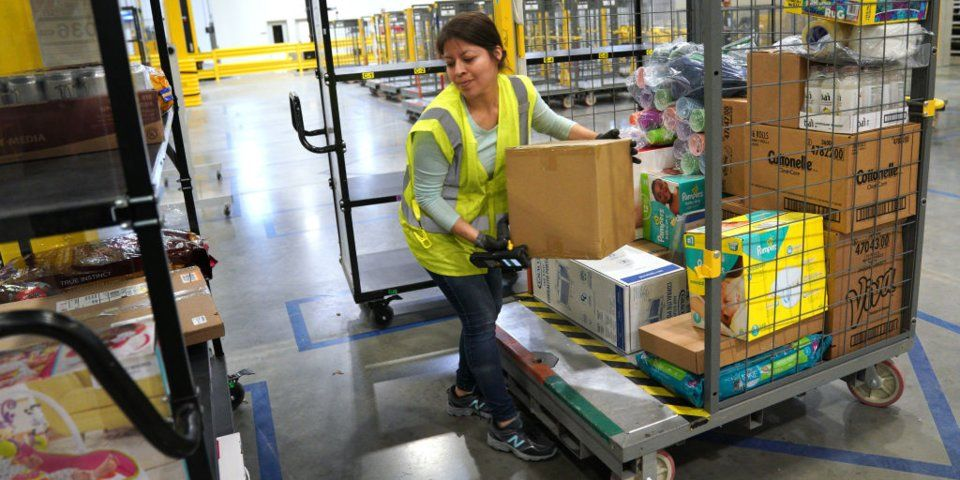 Some Amazon Warehouse Workers Are Getting Raises After Repeated