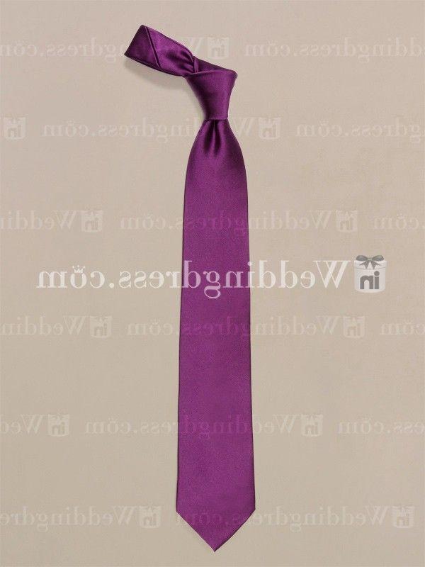 wedding ties for men_Grape