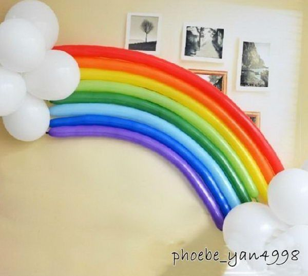 Diy Party Decorations For Adults diy rainbow party decorating ideas for kids | rainbow balloons