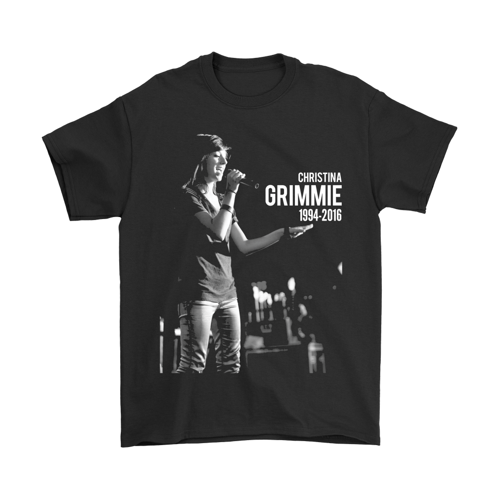 Christina Grimmie Side A Album Cover Music Artist Celebrity Fan T Shirt