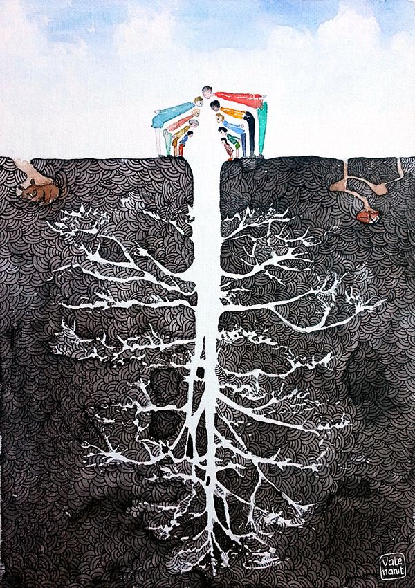 The tree. There isn't more. Valentina Cortelazzo on Behance